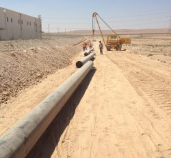 16 Inch Pipeline Feeding IPPs Power Station